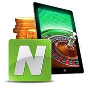 logo neteller design tablette pièces de monnaie